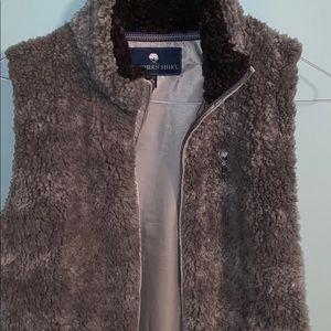 Southern Shirt Co sherpa vest
